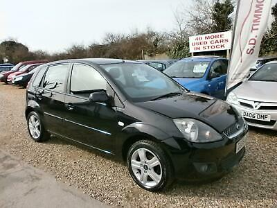Ford Fiesta Zetec Climate 16v 5dr 1.4 -  LOW TAX PETROL MANUAL 2008/08