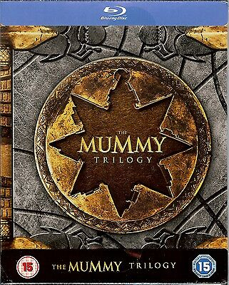 The Mummy Trilogy Limited Edition Embossed SteelBook (Region Free UK Import)