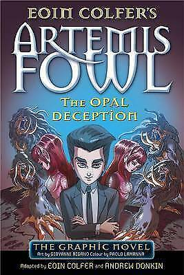Artemis Fowl The Opal Deception (Graphic Novel) By Eoin Colfer NEW Book