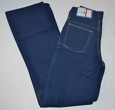 Vtg Young Maverick (Blue Bell) Boys Blue Jeans 10 Slim