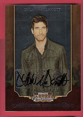 DYLAN MCDERMOTT ACTOR #d AUTOGRAPH AUTO AMERICANA THE PRACTICE STALKER