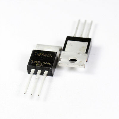 IRF540 IRF540N MOSFET 100V 36A TO-220AB /(10 Pack/)