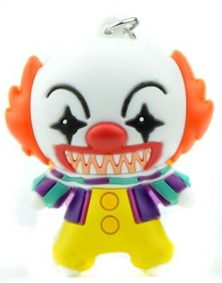 Figural Keychain Key Ring HORROR Properties Series 1  PENNYWISE  Rare Limited IT