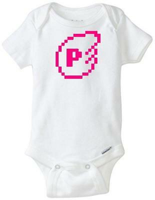 Super Mario Brothers POW Custom Gerber Onesie infant-toddler Free Shipping