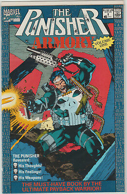 PUNISHER ARMORY 1 1st Print 1990 Marvel BORN Frank Castle NM Movie DVD BLU RAY