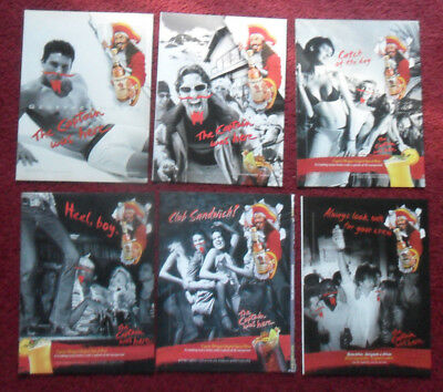 Lot of 20 Different CAPTAIN MORGAN Spiced Rum Magazine Print Ads Clippings ~