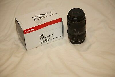 Canon EF 135mm f/2.8 Soft Focus Lens