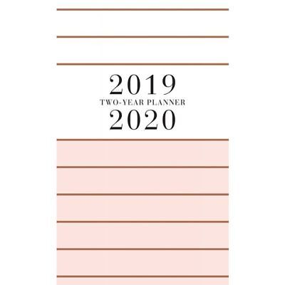 2019-2020 Classic Charm 2 Year Pocket Planner By Graphique