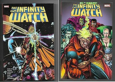 The Infinity Watch Volume 1 & 2 Softcover Graphic Novel