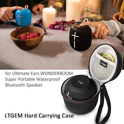 LTGEM Eva Hard Travel Carrying Case for UE WONDERBOOM Super Bluetooth Speaker