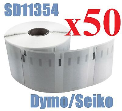 50 x Rolls Labels for Dymo Seiko 11354  57mm x 32mm LabelWriter 450/450 Turbo