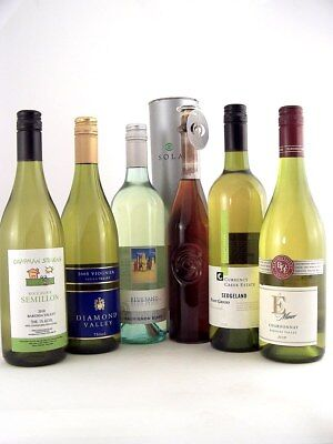 1997 - 2012 MIXED HALF DOZEN Cellar Aged White Wines - FREE SHIP Save $50!!!