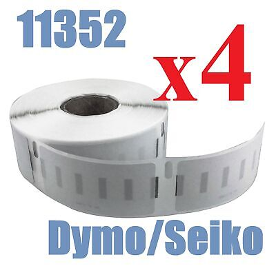 4 x Rolls Labels for Dymo Seiko SD11352 25mm x 54mm /500 LabelWriter Printer