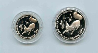 ISRAEL Holy Land Wildlife Song of Songs Little Foxes Silver Coin Set in Case COA