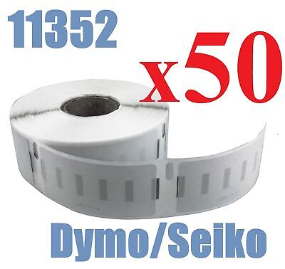 50 x Rolls Labels for Dymo Seiko 11352  25mm x 54mm LabelWriter 450/450 Turbo