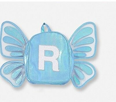 Justice Butterfly Wing Letter R Mini Backpack Last One!🦋