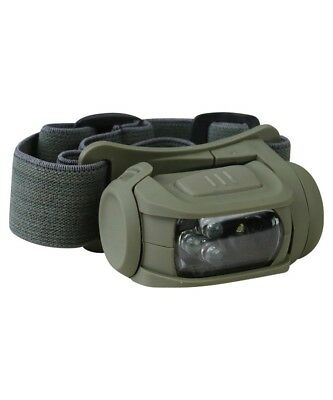 Military Tactical Predator Head Torch Ii Red Filter British Army Survival Cadet