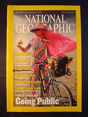 National Geographic - August 2001 - Private lands