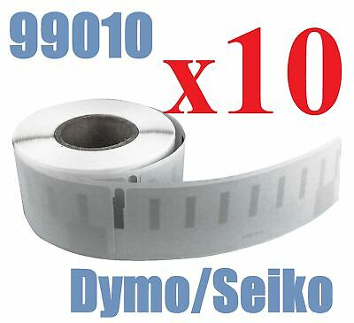 10 x Rolls Labels for Dymo Seiko 99010 89mm x 28 mm LabelWriter 450/450 Turbo