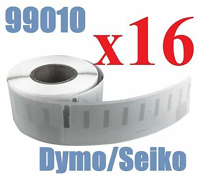 16 x Rolls Labels for Dymo Seiko 99010 89mm x 28 mm LabelWriter 450/450 Turbo