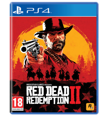 Red Dead Redemption 2 Ps4 Videogioco Eu Play Station 4 Gioco Italiano Gta Nuovo