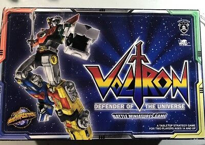 Voltron Battle Miniatures Game  NIB  NEW  Monsterpocalypse  Privateer Press