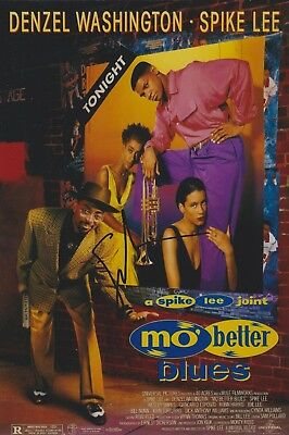 Spike Lee Signed Mo Better Blues 12x8 Photo AFTAL