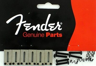 Genuine Fender American Series Strat / Tele Bridge Sections Saddles 0990840000