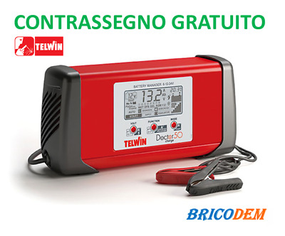 Caricabatterie Elettronico Multifunzione 230V Doctor Charge 50 Telwin 807598