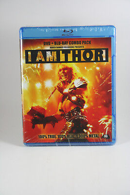 I Am Thor Blu-Ray + DVD BRAND NEW Canadian Release Raven Banner See Pics!