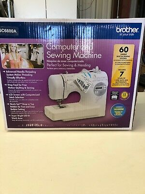 BROTHER COMPUTERIZED SEWING Machine Serger SC40A NEW 4040 Mesmerizing Brother Computerized Sewing Machine Sc6600a