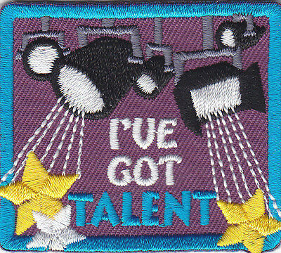 I'VE GOT TALENT Iron On Patch Movies Acting Actor Actress Stage