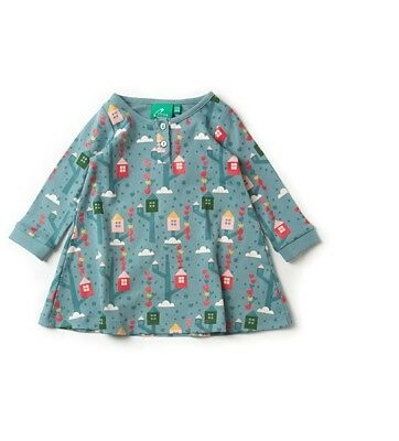 Little Green Radicals Organic Playaway Dress Secret Treehouse 2 3 4 5 7 8