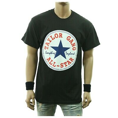 Funny Drinking Graphic T-Shirt TAYLOR GANG ALL-STAR Printed Humor Urban Tee