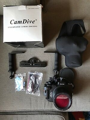 Cam Dive Sony A7sii Underwater Housing