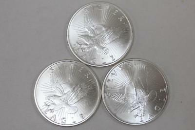 Sunshine Minting Silver Eagle 1 oz Rounds - Lot of 3