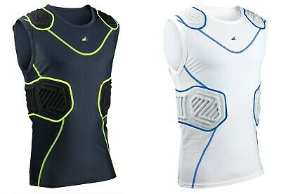 Champro Football / Lacrosse YOUTH Bull Rush Sleeveless, Padded Compression Shirt