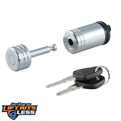 CURT 23520 Chrome Coupler Lock ALL Non-Spec Vehicle ALL Base