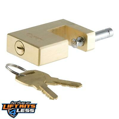 CURT 23546 Coupler Lock Solid Brass ALL Non-Spec Vehicle ALL Base