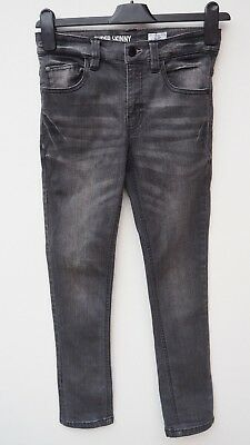 Fantastic NEXT Girl's Charcoal Grey Super Skinny Stretch Jeans age 9 years