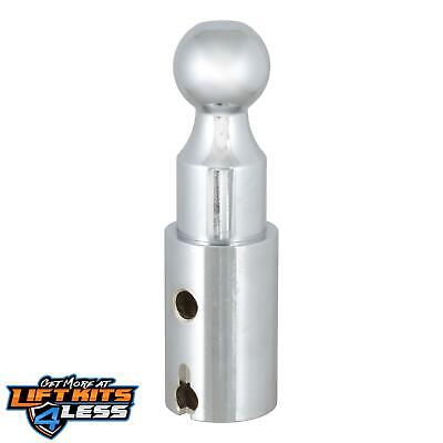 "CURT 60603 Double Lock 2.31"" Riser Gooseneck Ball ALL Non-Spec Vehicle ALL Base"