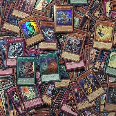 1000 FOREIGN Yu-Gi-Oh! YGO Cards Lot with Rares, Supers and Ultras!