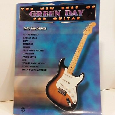 Green Day The New Best Of For Guitar Rock Heavy Metal Guitar Tab Music Book