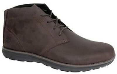 Timberland A14Gx Edgemont Men's Brown Nubuck Leather Chukka Boots