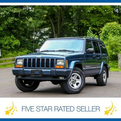 Jeep Cherokee Sport Super Low 58K mi 4.0L 1 Owner 4x4 CARFAX! 2001 Jeep Cherokee Sport Super Low 58K mi 4.0L 1 Owner 4x4 CARFAX!