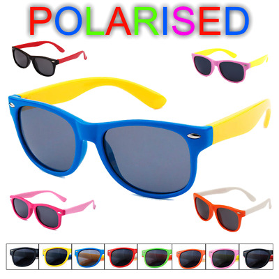 Kids Polarised Sunglasses for Boys Girls Baby and Children Age 3-10 ✅unbreakable