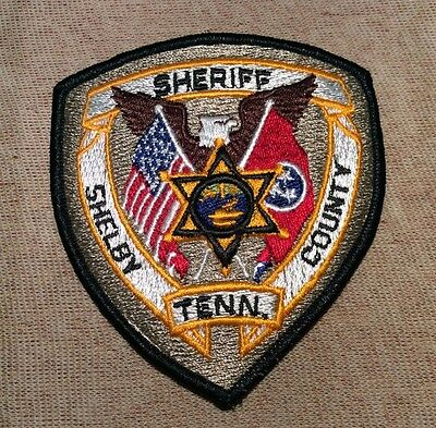 TN Shelby County Tennessee Sheriff Patch