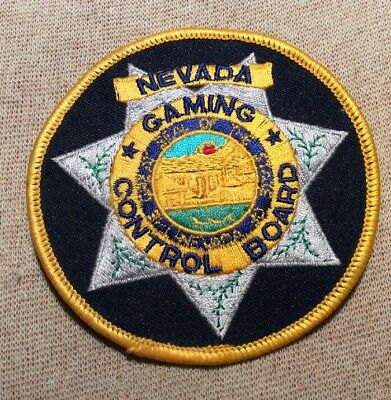 NV Nevada Gaming Control Board Patch
