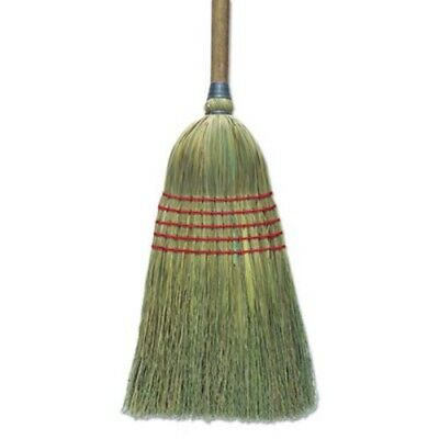 "Boardwalk Corn Broom, 56"", Lacquered Wood Handle, Natural, 6/Carton (BWKBR10003)"