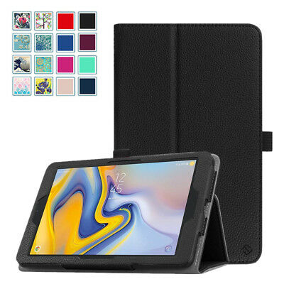 For Samsung Galaxy Tab A 8.0'' SM-T387V 2018 Model Folio Case Cover Stand